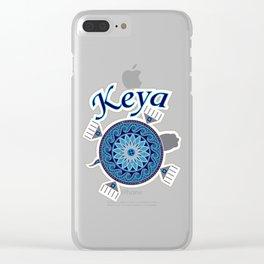 Turtle Keya Clear iPhone Case