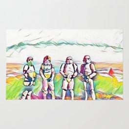 We the Stormtroopers (Pastel Rainbow) Rug