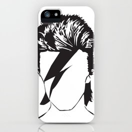 David as Ziggy iPhone Case
