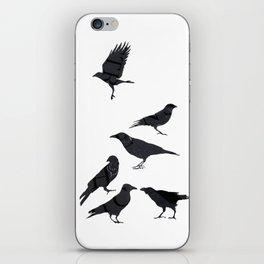 kargalar (crows) iPhone Skin