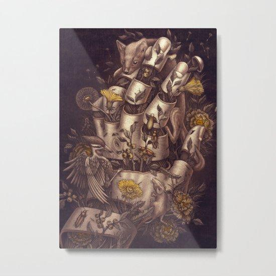 Disperse Metal Print