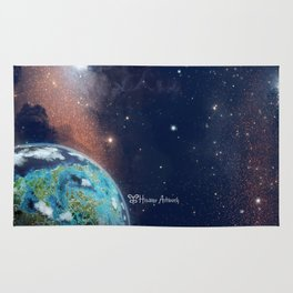 Beyond Infinity | Vacation Planet Rug