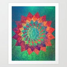 Escape Wavefold. Art Print