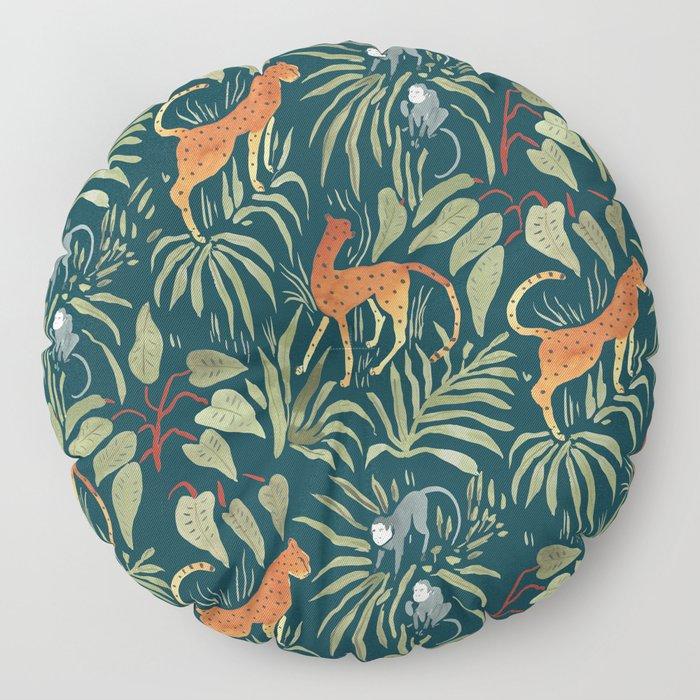 Monkey Business Floor Pillow