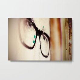 Wide Eyes Metal Print