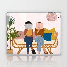 Smart Girls Read Books Laptop & iPad Skin