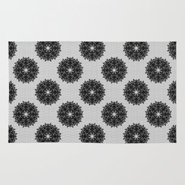 Lace pattern Rug