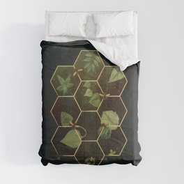 Bees in Space Comforters