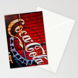 Rusty Coke Ad Stationery Cards