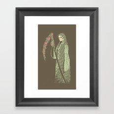 Grim Poetry Framed Art Print