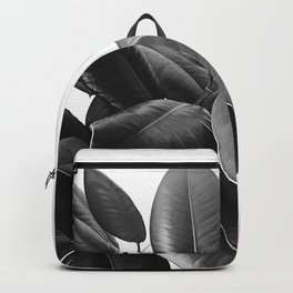 Ficus Elastica #21 #BlackAndWhite #foliage #decor #art #society6 Backpack