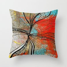 Black hole [2] Throw Pillow