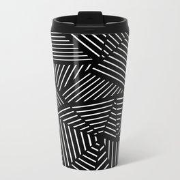 Ab Linear Zoom Black Metal Travel Mug
