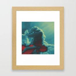 King Hippocamp Framed Art Print