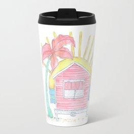 Beach Shack Vibes Travel Mug