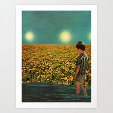 Contemplative Art Print