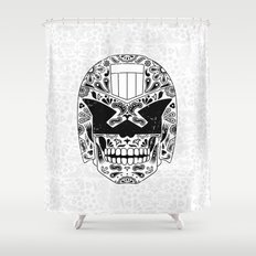 Day of the Dredd Shower Curtain