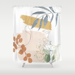 Line in Nature II Shower Curtain