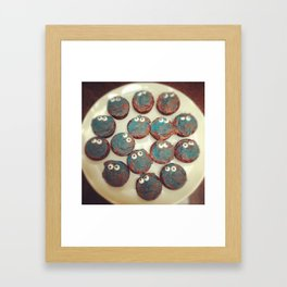 We're All Looking At You Framed Art Print