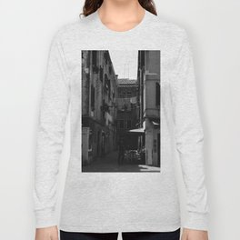 Calle Marcello b&w Long Sleeve T-shirt