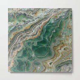 Marble lover Metal Print