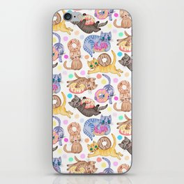 Sprinkles on Donuts and Whiskers on Kittens iPhone Skin