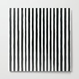 Crazy stripes Metal Print