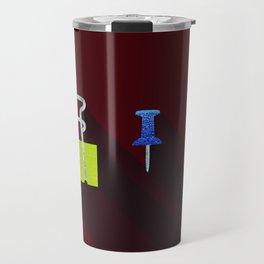 Paper Clip Tack Travel Mug