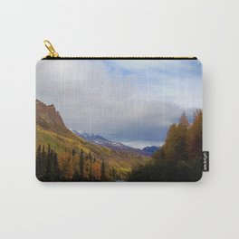 Matanuska River Alaska Carry-All Pouch