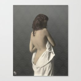 Ania, uncovered Canvas Print