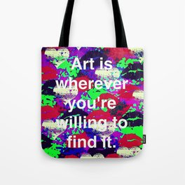 Art is... Tote Bag