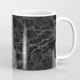 Black and White Fire Water Coffee Mug