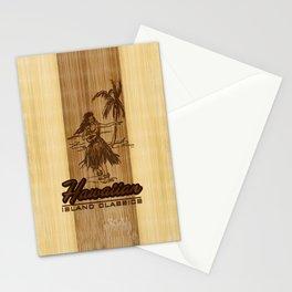 Tradewinds Hawaiian Island Hula Girl Stationery Cards