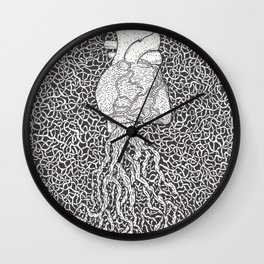 Mucho Corazon Wall Clock