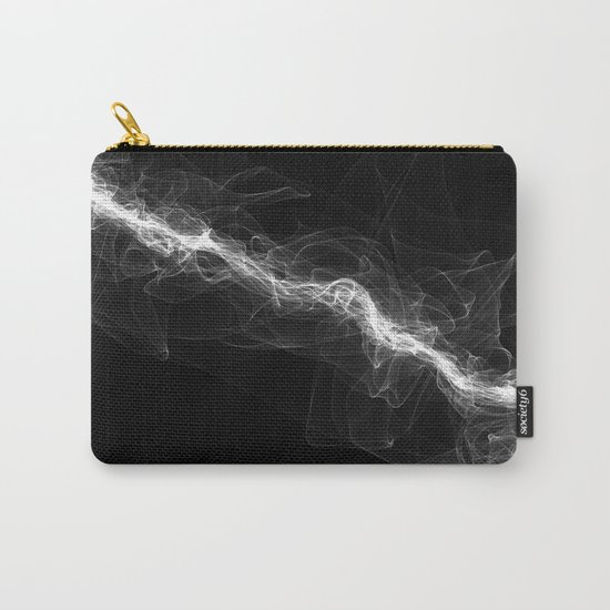 Smoke White Carry-All Pouch