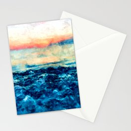 Sea And Sunset Stationery Cards