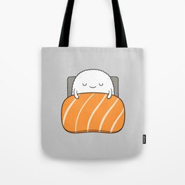 sleepy sushi Tote Bag