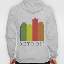 detroit skyline Hoody