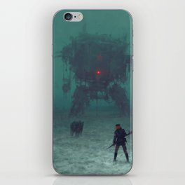 1920 - red wreck iPhone Skin