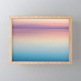 Color Layers Sunrise Sea Framed Mini Art Print