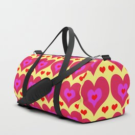 Hearts Duffle Bag