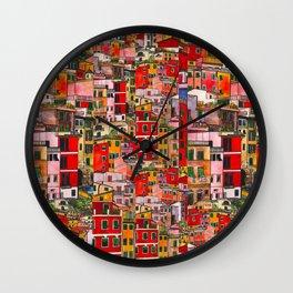 Manarola, Italy  Wall Clock
