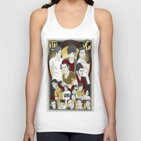 cargline Tank Tops featuring Dis is Oos by cargline