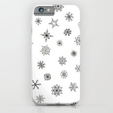 Snowflakes Slim Case iPhone 6s