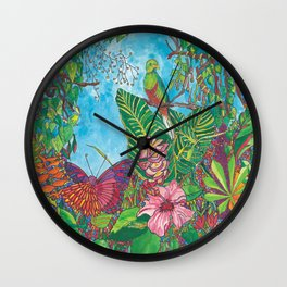 The Three Secrets of the Selva Wall Clock
