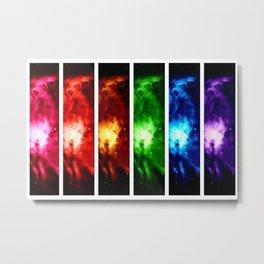 Rainbow Nebula Metal Print