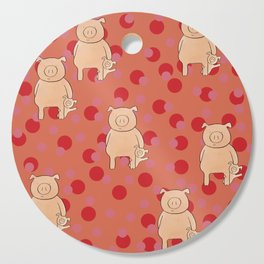 Year of the Pig Cutting Board