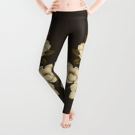Magnolias Leggings