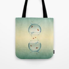 Goldfish Infinity Tote Bag