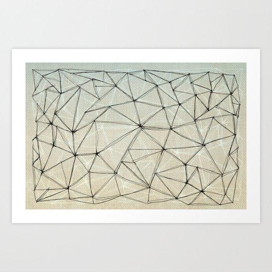 mesh Art Print